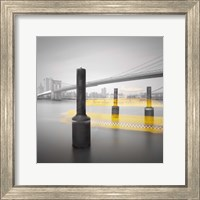 New York Water Taxi Fine Art Print