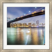 Brooklyn Bridge Pano 2 2 of 3 Fine Art Print