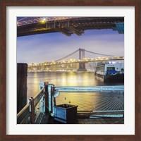 Brooklyn Bridge Pano 2 3 of 3 Fine Art Print