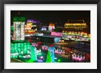 Harbin International Ice and Snow Sculpture Festival, Harbin, Heilungkiang Province, China Fine Art Print