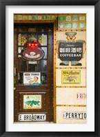American Starbucks cafe, Zhongyang Dajie, Daoliqu Russian Heritage Area, Harbin, Heilungkiang Province, China Fine Art Print