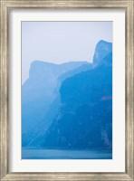 Yangtze River at Dawn, Yichang, Hubei Province, China Fine Art Print