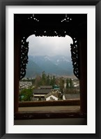 Old town viewed from North Gate, Dali, Yunnan Province, China Fine Art Print
