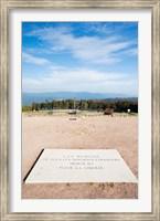 Le Struthof former Nazi concentration camp memorial, Natzwiller, Bas-Rhin, Alsace, France Fine Art Print