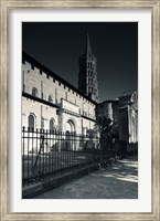 Entrance of the Basilica of St. Sernin, Toulouse, Haute-Garonne, Midi-Pyrenees, France Fine Art Print