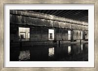 Interiors of World War Two-era Nazi submarine, Bordeaux, Gironde, Aquitaine, France Fine Art Print