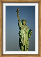 Low angle view of a statue, Statue Of Liberty, Manhattan Fine Art Print
