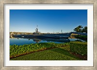 World War II submarine at a museum, USS Bowfin Submarine Museum And Park, Pearl Harbor, Honolulu, Oahu, Hawaii, USA Fine Art Print