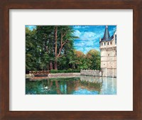 At The Chateau Fine Art Print