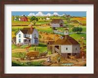 Bringing In The Hay Fine Art Print