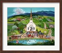 Spring Wedding Fine Art Print