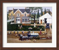 The Water Wagon Fine Art Print