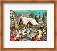 Snowy Delight Fine Art Print