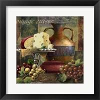 Cheese & Grapes II Fine Art Print
