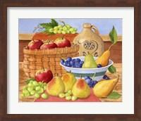 Apples, Grapes & Pears Fine Art Print