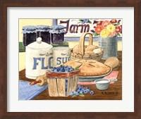 Blueberry Pie Fine Art Print