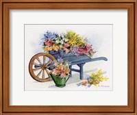 Flower Cart Fine Art Print