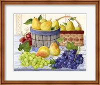 Grapes & Pears Fine Art Print