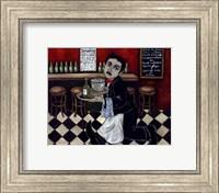 French Waiter I Fine Art Print