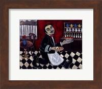 French Waiter II Fine Art Print