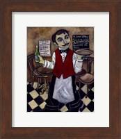 French Waiter III Fine Art Print