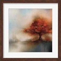 Morning Mist & Maple I Fine Art Print