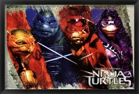Ninja Turtles - Bars Wall Poster