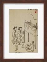 Korean Puppet Show Fine Art Print