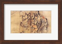 Painting of the Nineteen Iimmortals III Fine Art Print