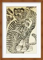 Korean Folk Tiger Fine Art Print