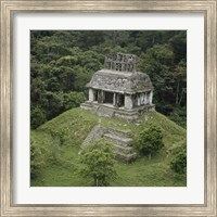 Temple of the Cross Palenque Fine Art Print