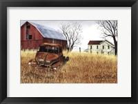 Granddad's Old Truck Fine Art Print