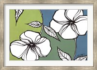 Flowers in Unity - Teal Fine Art Print