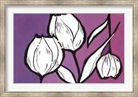 Flowers in Unity - Purple Fine Art Print