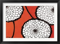 Flowers in Unity - Orange Fine Art Print