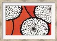 Flowers in Unity - Orange Fine Art Print