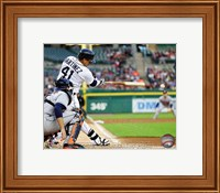 Victor Martinez 2014 on the field Fine Art Print