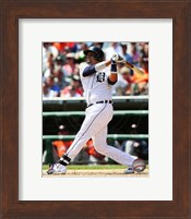 Victor Martinez 2014 Action Fine Art Print