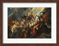 The Fall of Phaeton Fine Art Print