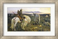 The Knight At The Crossroads Fine Art Print