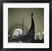 9th Century Viking Ships Oslo, Norway Fine Art Print