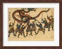 Chinese Dragon Dance Fine Art Print