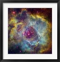 Rosette nebula (NGC 2244) in Monoceros Fine Art Print
