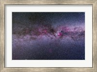 The northern Milky Way from Cygnus to Cassiopeia and Perseus Fine Art Print
