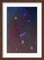 The Orion constellation Fine Art Print