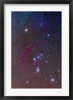 The Orion constellation Fine Art Print