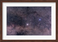 Alpha and Beta Centauri in the southern constellation of Centaurus Fine Art Print
