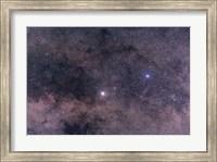 Alpha and Beta Centauri in the southern constellation of Centaurus Fine Art Print