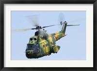 Romanian Air Force IAR-330M Puma helicopter Fine Art Print