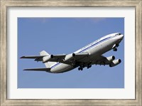 Aeroflot Ilyushin Il-86 airliner taking off from Bulgaria Fine Art Print